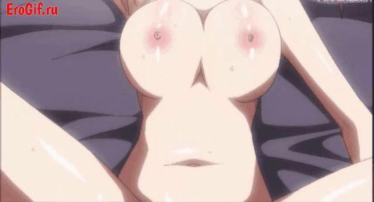 Анимированые хентай гифки, аниме девушки занимаются сексом. Hentai Gif, красивые гиф порно. 18+