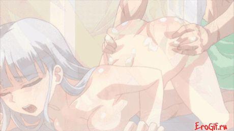 Хентай гифки анал, аниме тяночк ебут в попу, порно японских девушек ебут в жопу